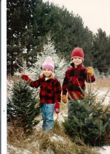 childhood christmas tree
