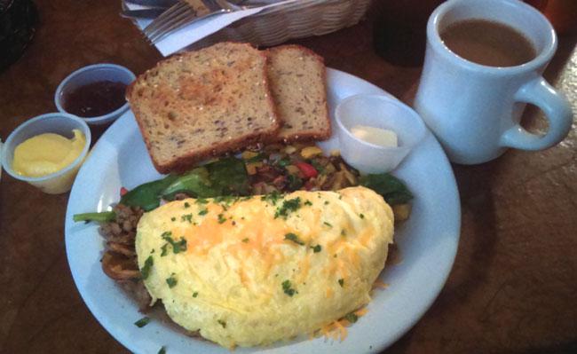 Coeur d'Alene Restaurant Reviews ~ The Garnet Cafe